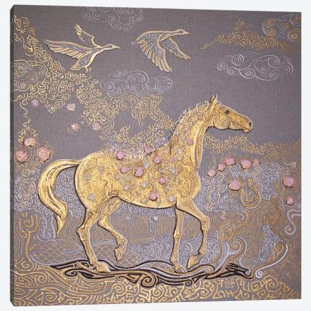 Golden Spring Canvas Print #FFK107} by Fefa Koroleva Canvas Art Print