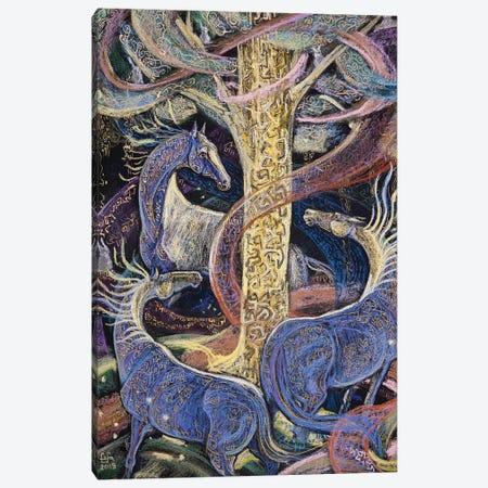 The Magic Tree Canvas Print #FFK108} by Fefa Koroleva Canvas Artwork