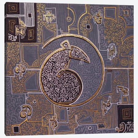 The Rat Canvas Print #FFK119} by Fefa Koroleva Canvas Art Print