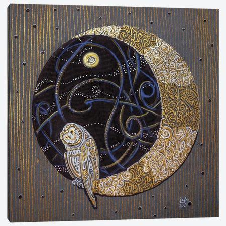Far Side Of The Moon Canvas Print #FFK124} by Fefa Koroleva Canvas Art Print