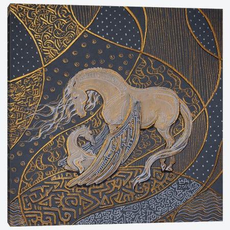Pegasus Family Canvas Print #FFK131} by Fefa Koroleva Canvas Art Print