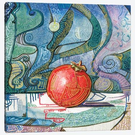 Mysterious Pomegranate Canvas Print #FFK79} by Fefa Koroleva Art Print