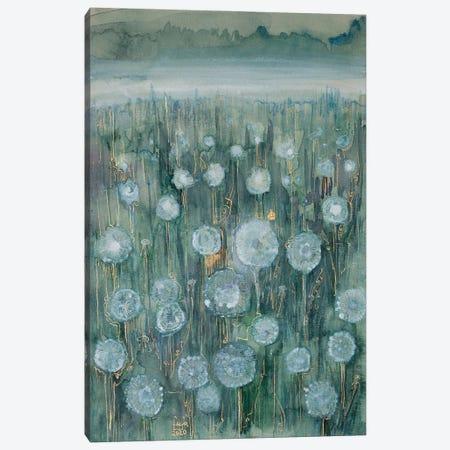 The Silver Meadow Canvas Print #FFK95} by Fefa Koroleva Canvas Art