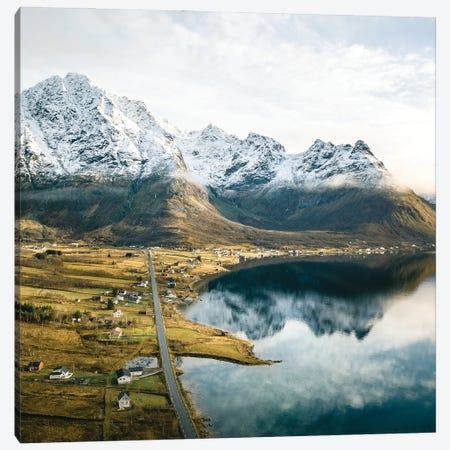 Last cold days Canvas Print #FFM107} by Fabian Fortmann Canvas Print
