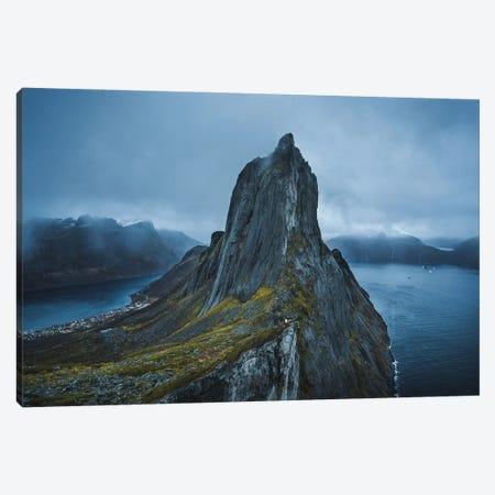 Polar Night Canvas Print #FFM112} by Fabian Fortmann Canvas Print