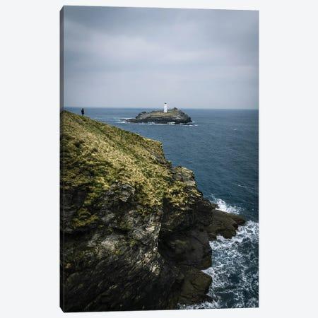 English Lighthouse Canvas Print #FFM122} by Fabian Fortmann Canvas Wall Art