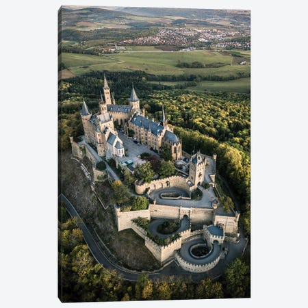 Castle On The Hill II Canvas Print #FFM131} by Fabian Fortmann Canvas Art Print