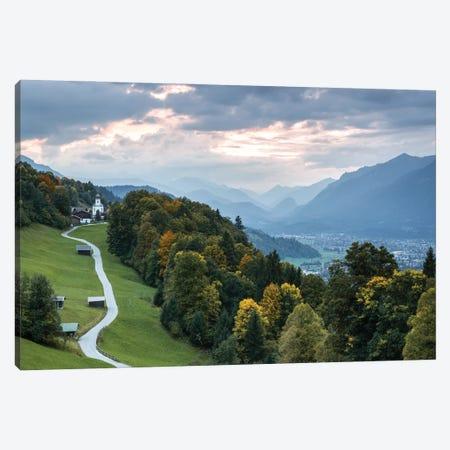 Road To Sunset Canvas Print #FFM145} by Fabian Fortmann Art Print