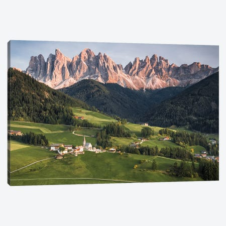 Italian Mountains Canvas Print #FFM146} by Fabian Fortmann Canvas Print