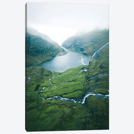 Valley Of The Thousand Waterfalls Canvas Print #FFM14} by Fabian Fortmann Canvas Art