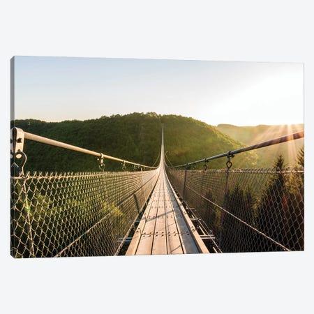 Suspension Bridge Canvas Print #FFM150} by Fabian Fortmann Canvas Print