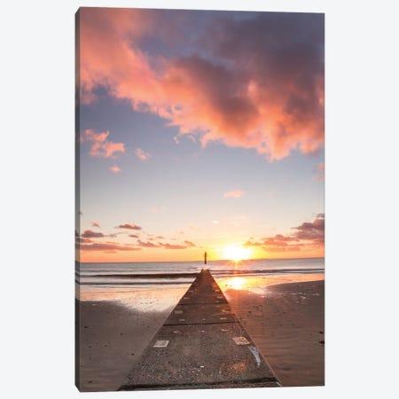 Colorful Sunset Canvas Print #FFM151} by Fabian Fortmann Art Print