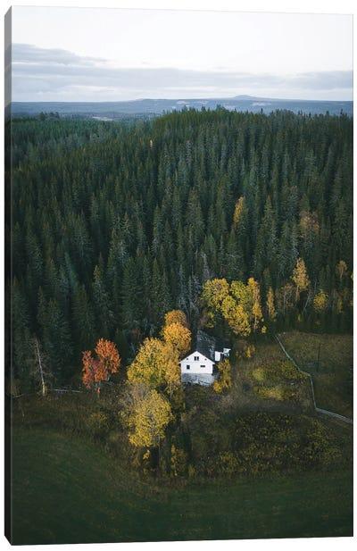 Last House For Miles Canvas Art Print