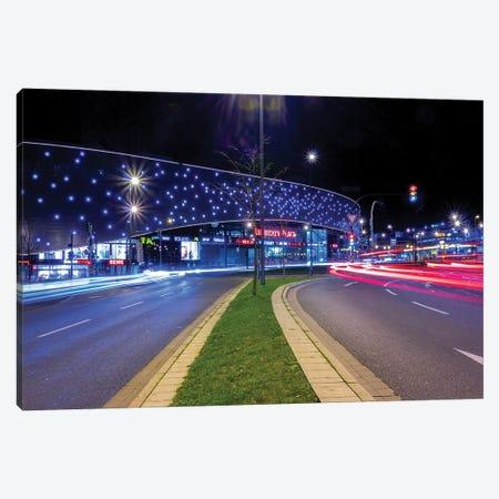 Night Traffic Canvas Print #FFM162} by Fabian Fortmann Canvas Wall Art
