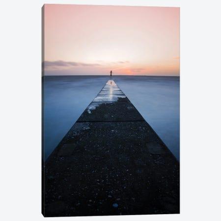 Silence The Sea Canvas Print #FFM165} by Fabian Fortmann Canvas Print
