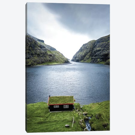 Cabin Of My Dreams Canvas Print #FFM16} by Fabian Fortmann Canvas Artwork