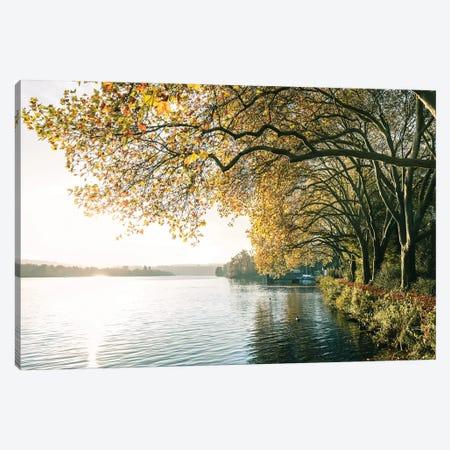 German Lake Canvas Print #FFM177} by Fabian Fortmann Canvas Wall Art