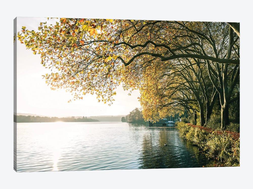German Lake by Fabian Fortmann 1-piece Canvas Art