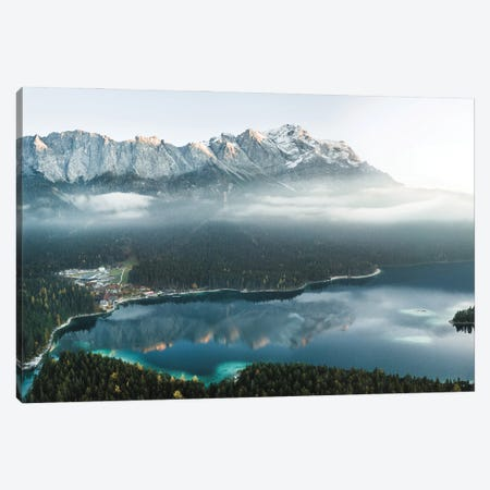 Foot Of The Mountain Canvas Print #FFM26} by Fabian Fortmann Canvas Art Print