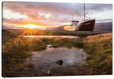 Anchoring Forever Canvas Art Print