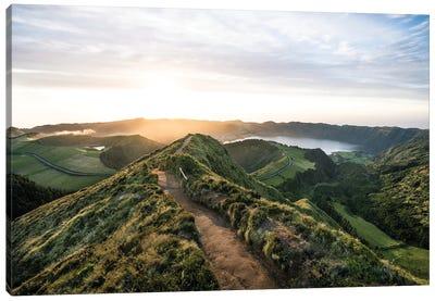 Path To Sunset Canvas Art Print