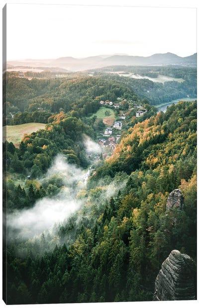 Autumn At Its Best Canvas Art Print