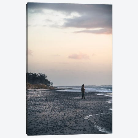 Enjoying The Sunset Canvas Print #FFM82} by Fabian Fortmann Canvas Wall Art