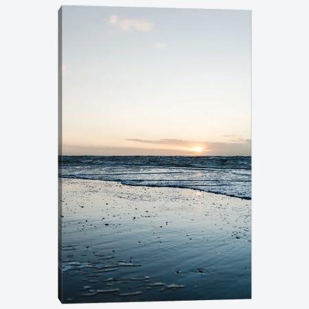 Clean Beach Canvas Print #FFM83} by Fabian Fortmann Canvas Artwork