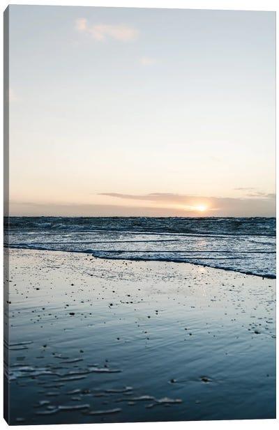 Clean Beach Canvas Art Print