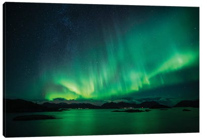 Nightly Spectacle Canvas Art Print