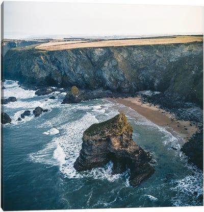 Cornwall's Coast Canvas Art Print