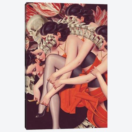 Whisper Canvas Print #FFO31} by FFO Art Canvas Print