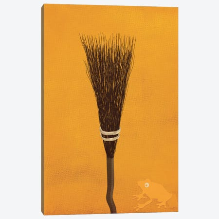 Broomsticks At The Ready Canvas Print #FFU1} by 5by5collective Canvas Art Print