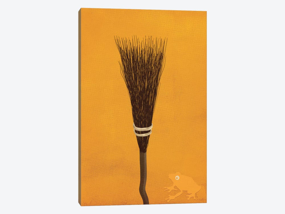 Broomsticks At The Ready by 5by5collective 1-piece Canvas Art Print