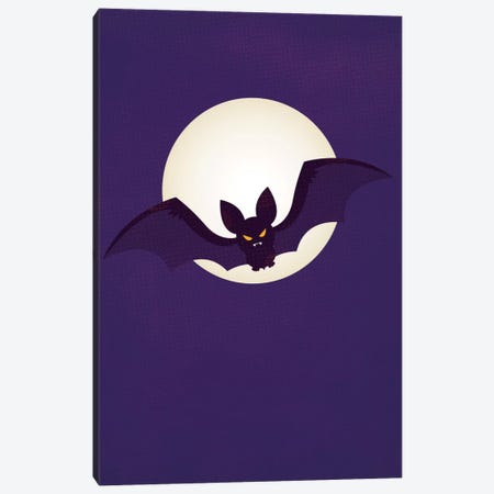 Flying Stealthily Through The Night Canvas Print #FFU3} by 5by5collective Art Print