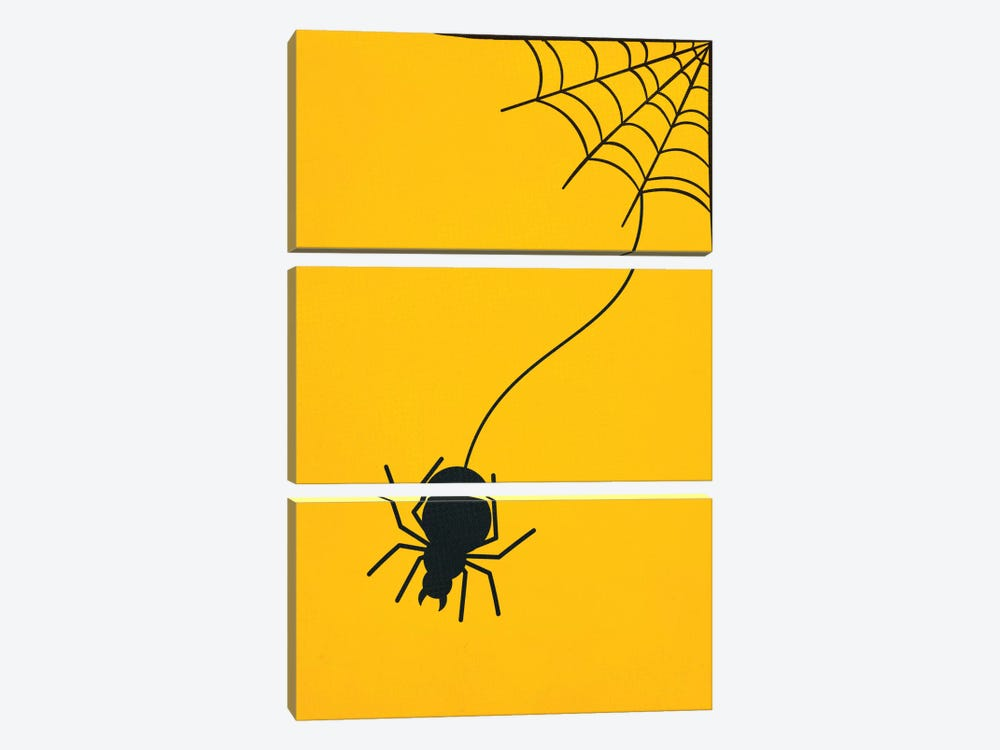 Forming A Web Above Your Bed by 5by5collective 3-piece Canvas Artwork