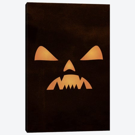 The Nightmare Of The Jack-O'-Lantern Lantern Canvas Print #FFU6} by 5by5collective Canvas Wall Art
