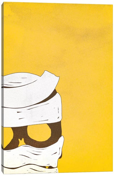 Toilet Paper All Over Your Head Canvas Art Print