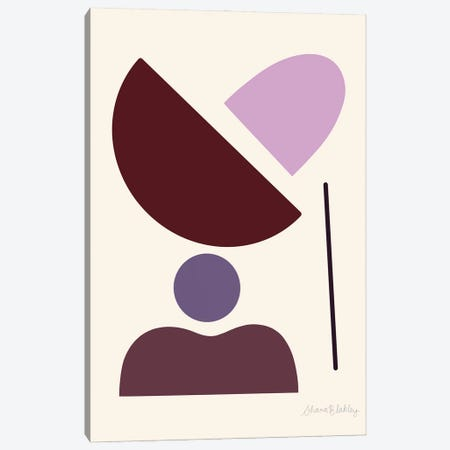 February Canvas Print #FGF10} by Figure Form Art Print