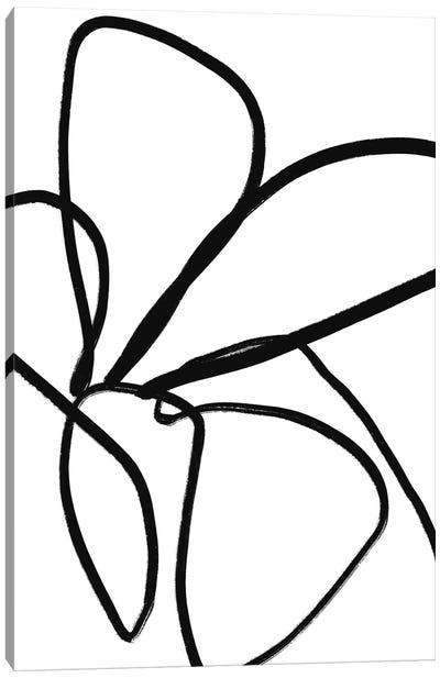 Fiddle Leaf Canvas Art Print