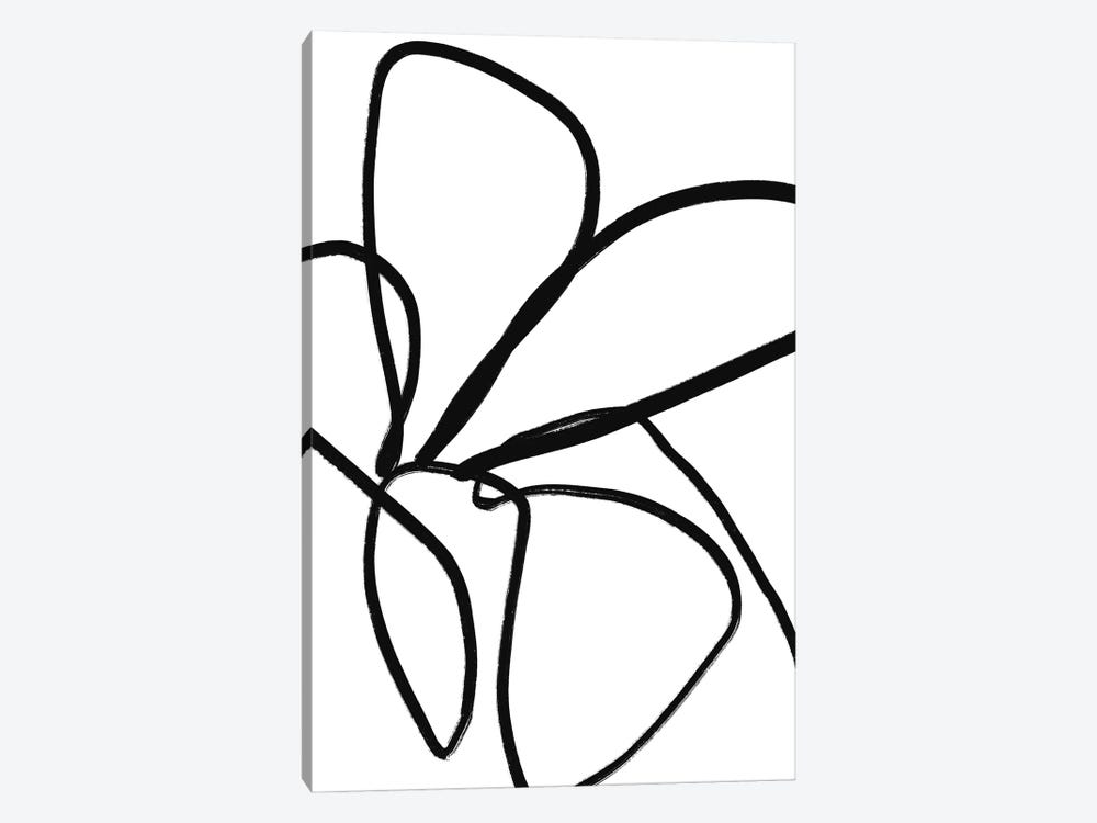 Fiddle Leaf by Figure Form 1-piece Canvas Art