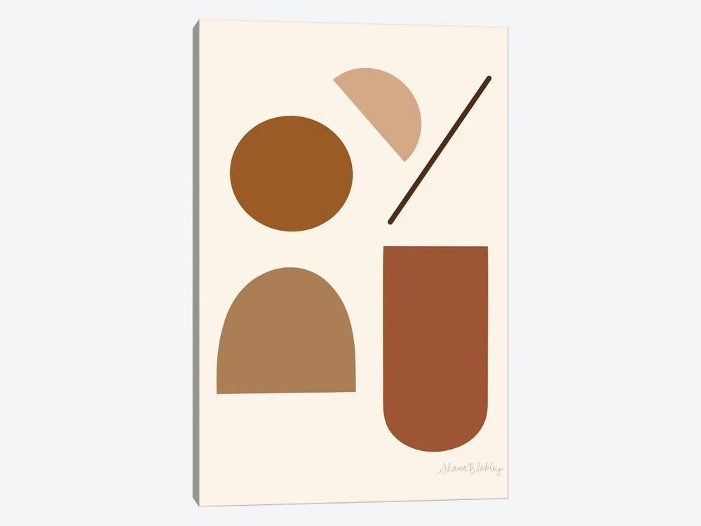 November by Figure Form 1-piece Art Print