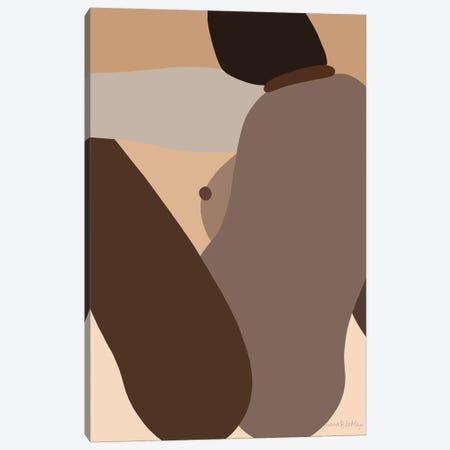 Self-Portrait Elsewhere - Dark Canvas Print #FGF27} by Figure Form Canvas Print