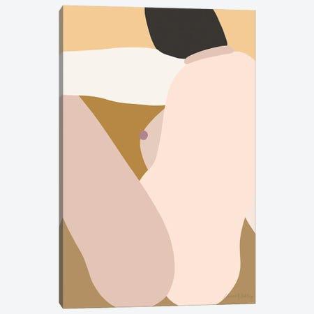 Self-Portrait Elsewhere - Light Canvas Print #FGF28} by Figure Form Canvas Art