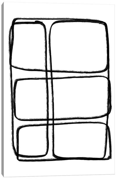 Stonehenge Rothko Canvas Art Print