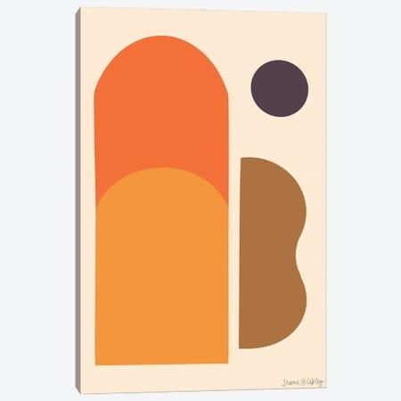 Westward Setting Canvas Print #FGF40} by Figure Form Canvas Art