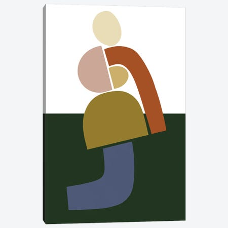 Womxn Before Forest Canvas Print #FGF51} by Figure Form Canvas Print