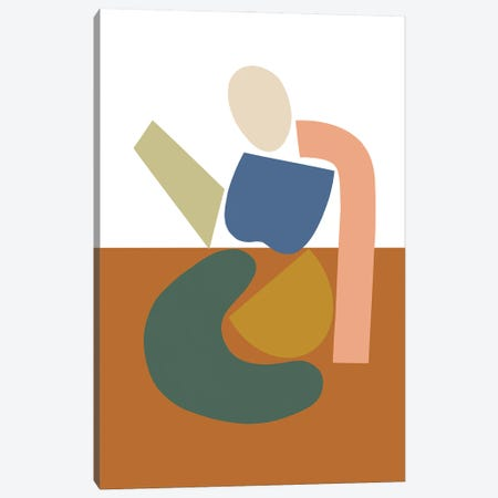 Womxn Before Field Canvas Print #FGF52} by Figure Form Canvas Print