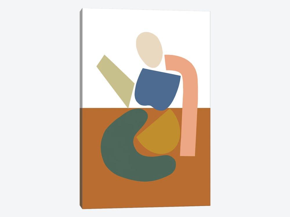 Womxn Before Field by Figure Form 1-piece Canvas Art Print