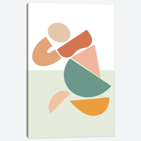Womxn Before Sea Canvas Print #FGF54} by Figure Form Canvas Artwork